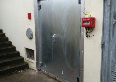 Chaudronnerie aménagement porte